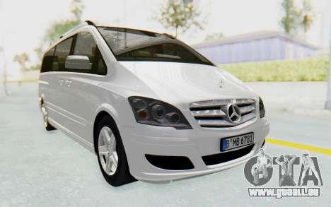 Mercedes-Benz Viano W639 2010 Long Version pour GTA San Andreas