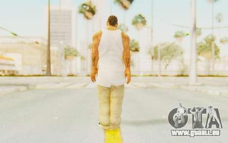 Def Jam Fight For New York - Xzibit pour GTA San Andreas troisième écran
