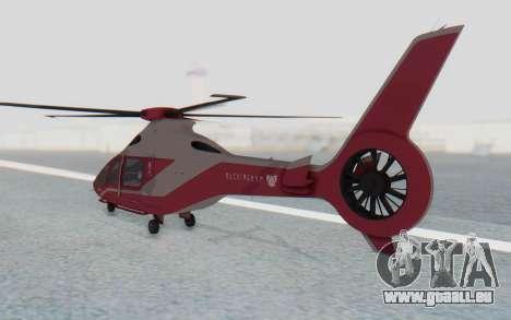GTA 5 Buckingham Volatus v2 IVF pour GTA San Andreas laissé vue