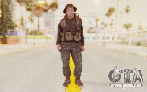 COD BO PVT Pepper Vietnam pour GTA San Andreas deuxième écran