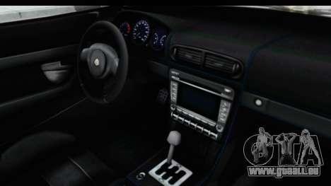 GTA 5 Lampadati Furore GT SA Lights pour GTA San Andreas vue intérieure