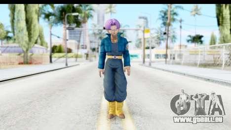 Dragon Ball Xenoverse Future Trunks SJ für GTA San Andreas zweiten Screenshot