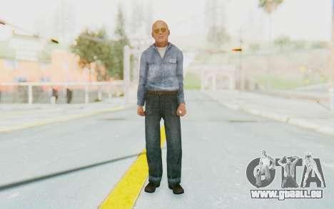 Mafia 2 - Jimmy Prison pour GTA San Andreas deuxième écran