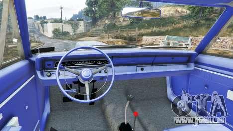 GTA 5 Dodge Dart 1968 Hemi vorne rechts Seitenansicht