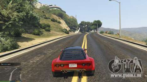GTA 5 Impromptu Races 1.8 troisième capture d'écran