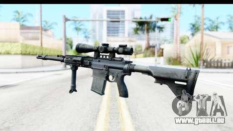 CoD Ghosts - G-28 Custom pour GTA San Andreas deuxième écran