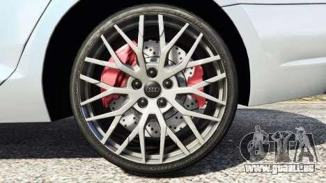 GTA 5 Audi A4 2017 v1.1 rechte Seitenansicht