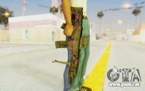 ACR CQB Magma Pink pour GTA San Andreas troisième écran