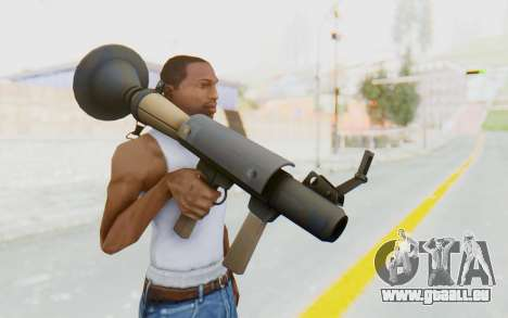 Rocket Launcher from TF2 für GTA San Andreas dritten Screenshot