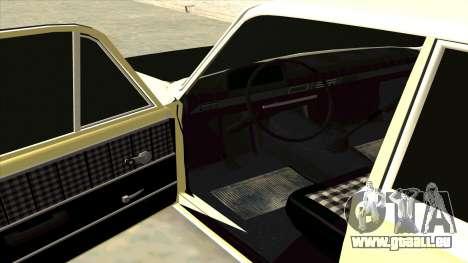 VAZ 21013 pour GTA San Andreas sur la vue arrière gauche