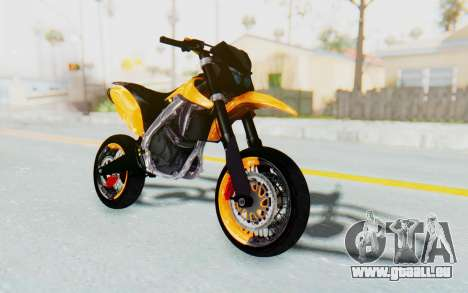 Kawasaki KLX150SD Tracker Supermoto pour GTA San Andreas