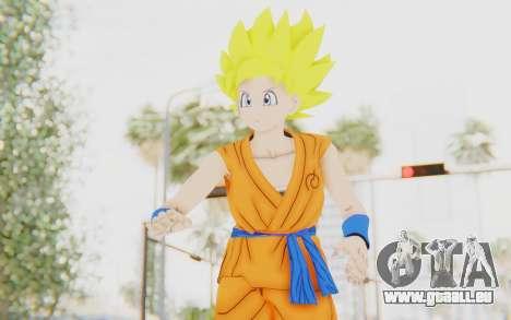 Dragon Ball Xenoverse Female Saiyan SSJ für GTA San Andreas