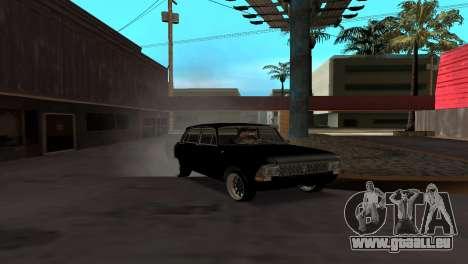 Moskwitsch 412 für GTA San Andreas Rückansicht