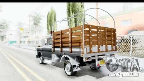GMC 3100 Diesel für GTA San Andreas linke Ansicht