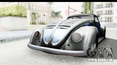 Volkswagen Beetle 1963 Hotrod pour GTA San Andreas