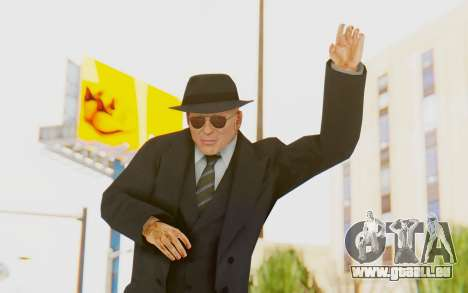 Mafia 2 - Jimmy Vendetta Black Suit pour GTA San Andreas