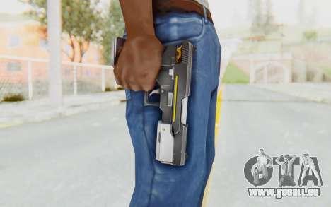 Yuri Pistol pour GTA San Andreas troisième écran