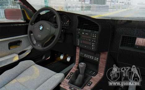 BMW M3 E36 2.5 TDS für GTA San Andreas Seitenansicht