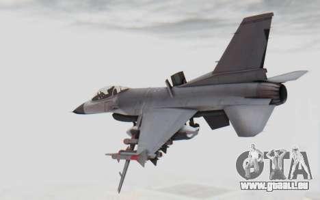 F-16 with Russian Missile pour GTA San Andreas laissé vue