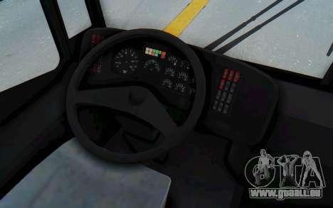 Pylife Bus pour GTA San Andreas vue de côté