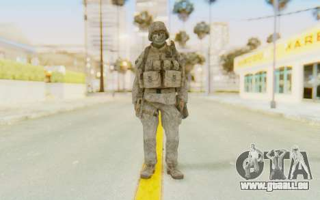 CoD MW2 Ghost Model v3 für GTA San Andreas zweiten Screenshot