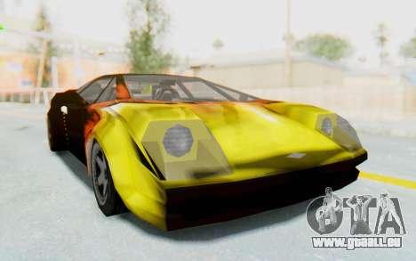 GTA VC Cuban Infernus pour GTA San Andreas vue de droite
