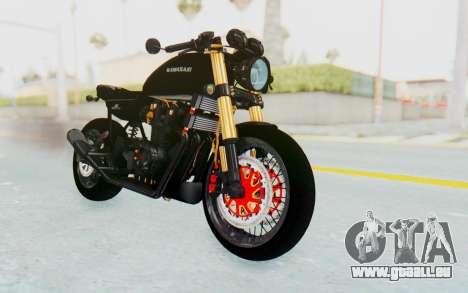 Kawasaki Z1000 Moghe Cafe Racer pour GTA San Andreas
