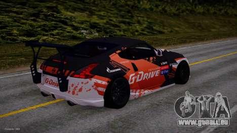 Nissan 350Z G-Drive Edition für GTA San Andreas zurück linke Ansicht