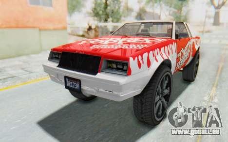 GTA 5 Willard Faction Custom Donk v1 IVF pour GTA San Andreas vue de côté