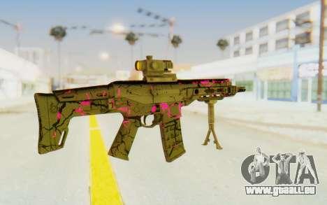 ACR CQB Magma Pink für GTA San Andreas zweiten Screenshot
