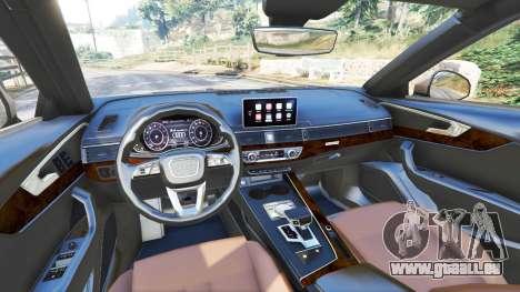 GTA 5 Audi A4 2017 vorne rechts Seitenansicht