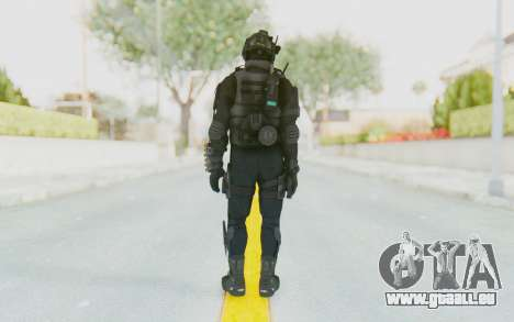 Federation Elite Shotgun Tactical für GTA San Andreas dritten Screenshot