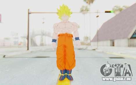 Dragon Ball Xenoverse Goku Shirtless SSJ für GTA San Andreas zweiten Screenshot