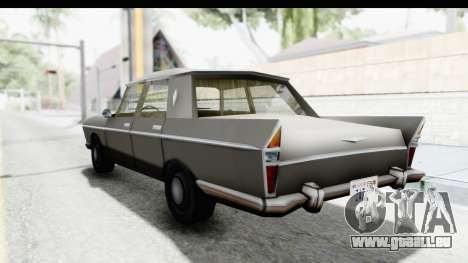 Simca Vedette from Bully für GTA San Andreas linke Ansicht