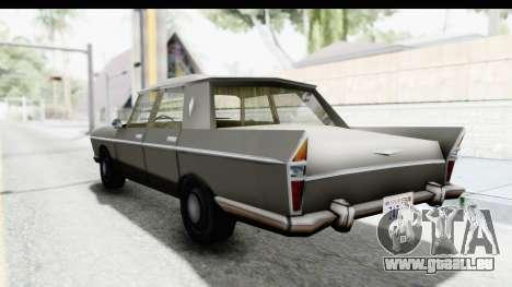Simca Vedette from Bully pour GTA San Andreas laissé vue