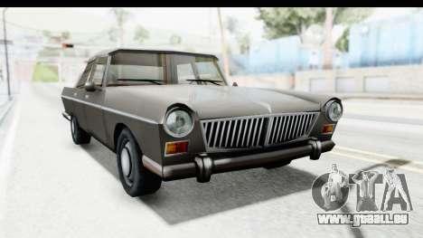 Simca Vedette from Bully pour GTA San Andreas vue de droite