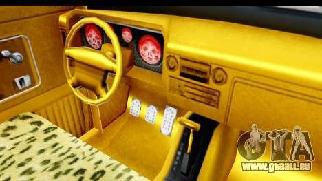 GTA 5 Vapid Slamvan without Hydro pour GTA San Andreas vue de côté