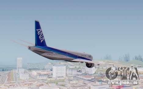 Boeing 777-300ER ZK-OKO - Smaug Livery pour GTA San Andreas vue de droite