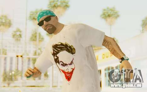The Joker Skin pour GTA San Andreas