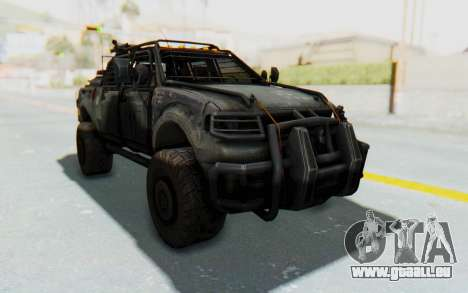 Toyota Hilux Technical pour GTA San Andreas