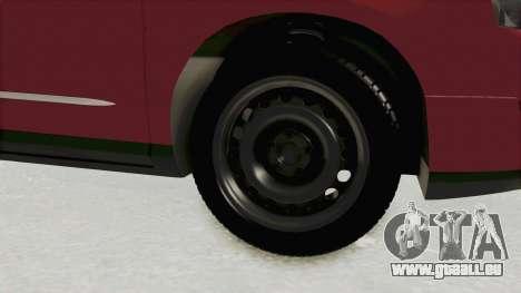Volkswagen Passat B6 Variant pour GTA San Andreas vue arrière