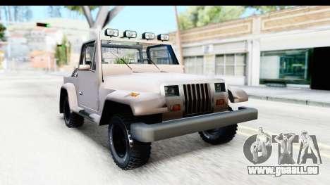 Mesa MAXimum 4x4 pour GTA San Andreas