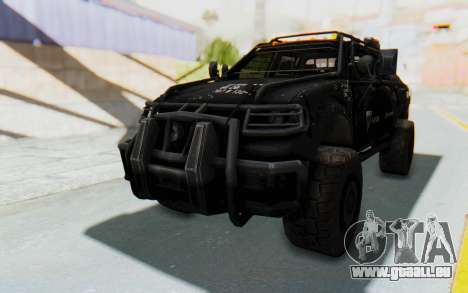 Toyota Hilux Technical Vindicator SecFor pour GTA San Andreas