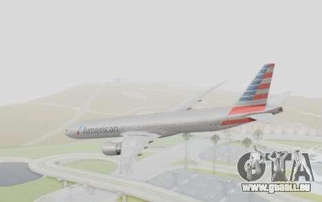 Boeing 777-300ER American Airlines N727AN für GTA San Andreas linke Ansicht