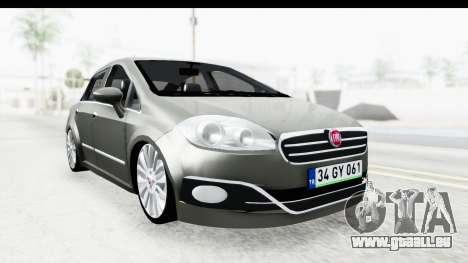 Fiat Linea 2014 für GTA San Andreas
