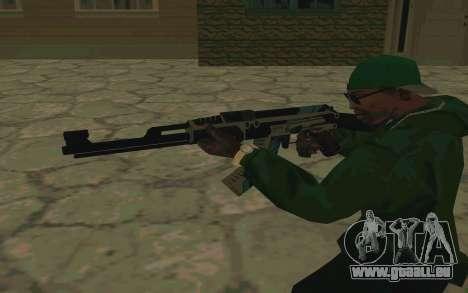 AK-47 Vulcan (SA) pour GTA San Andreas cinquième écran