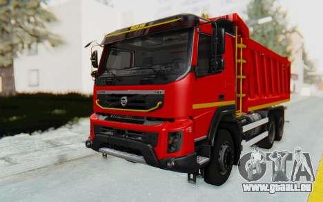 Volvo FMX 6x4 Dumper v1.0 für GTA San Andreas rechten Ansicht