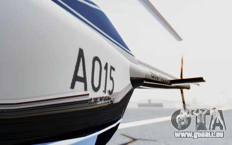 Bell 206B-III Jet Ranger Policja für GTA San Andreas Innenansicht