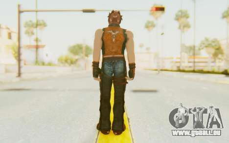 Hwoarang Skin pour GTA San Andreas troisième écran