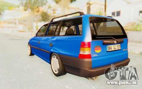 Opel Astra F Kombi 1997 pour GTA San Andreas laissé vue